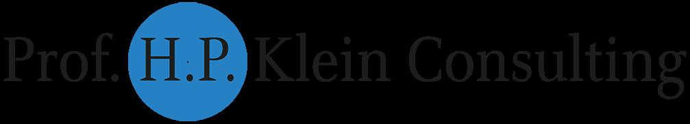 Prof. H. P. Klein Consulting